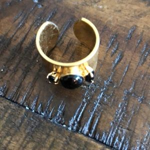 Gold Madewell ring size 6.